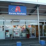 Die Europa Apotheke in den Flörsheim Kolonnaden